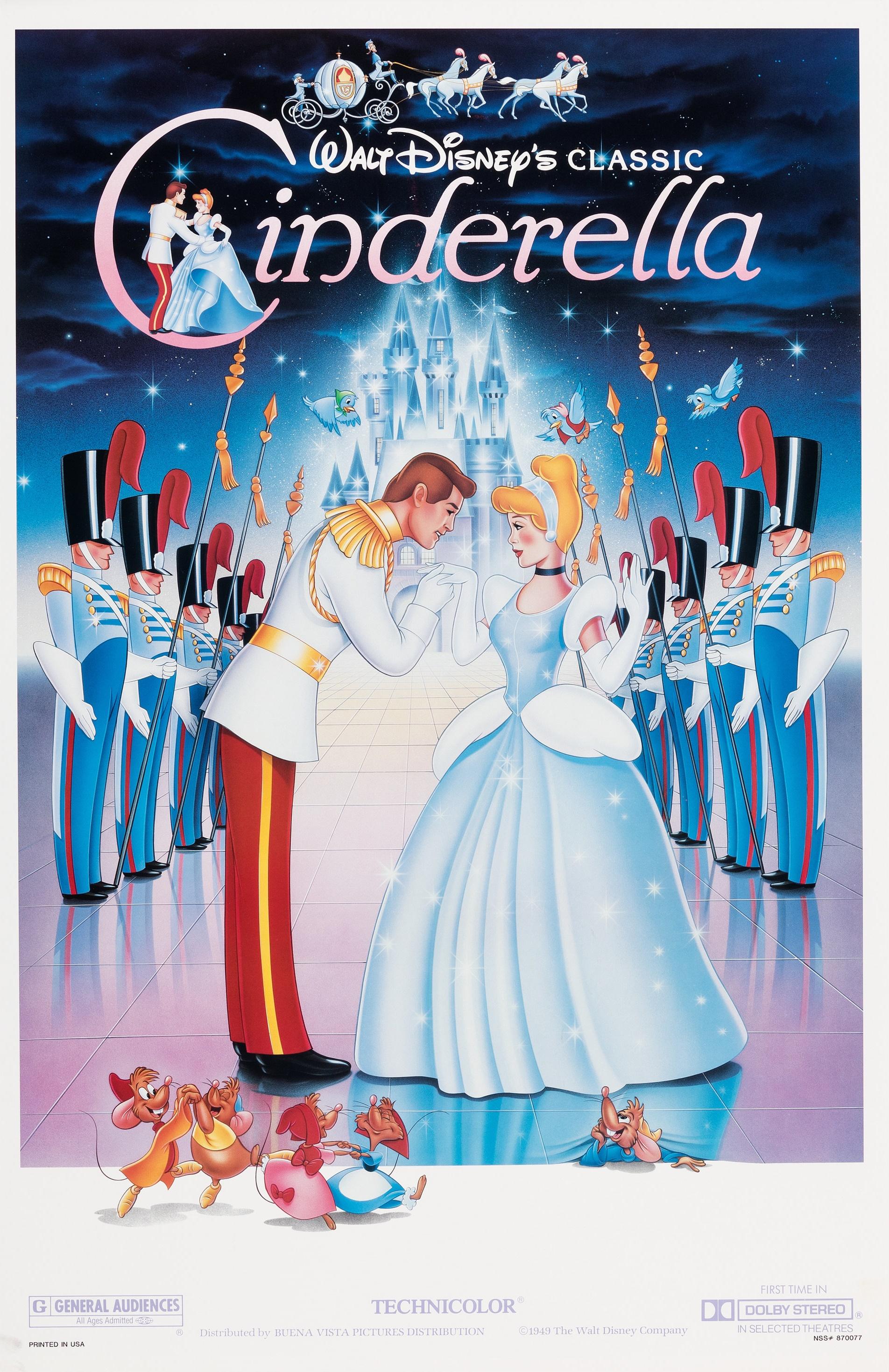 Cinderella Movie Poster cinderella 7790333 580 889 Bom tấn Cinderella – Cô bé Lọ Lem từ trang sách lên điện ảnh
