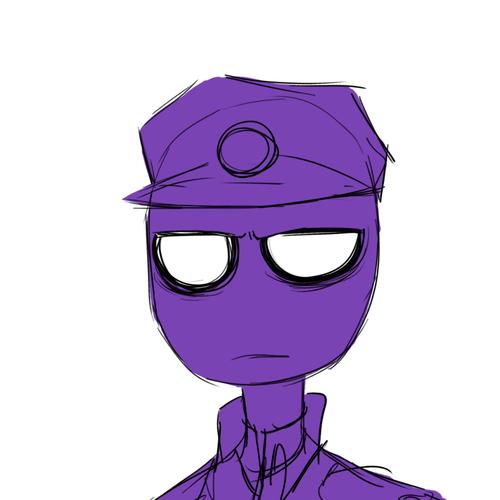 Purple guy zdj cie 2