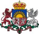 Coat of arms of Royal Latvia.png