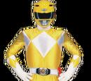 Żółty Wojownik Sentai