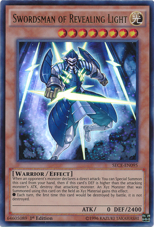 Wall Of Revealing Light Yugioh : Swordsman of Revealing Light - Yu-Gi-Oh! - It s time to Duel!