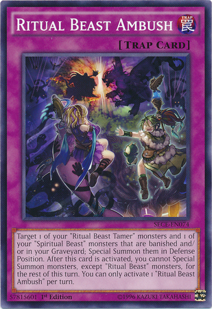 Ritual Beast Ambush - Yu-Gi-Oh! - Its time to Duel!