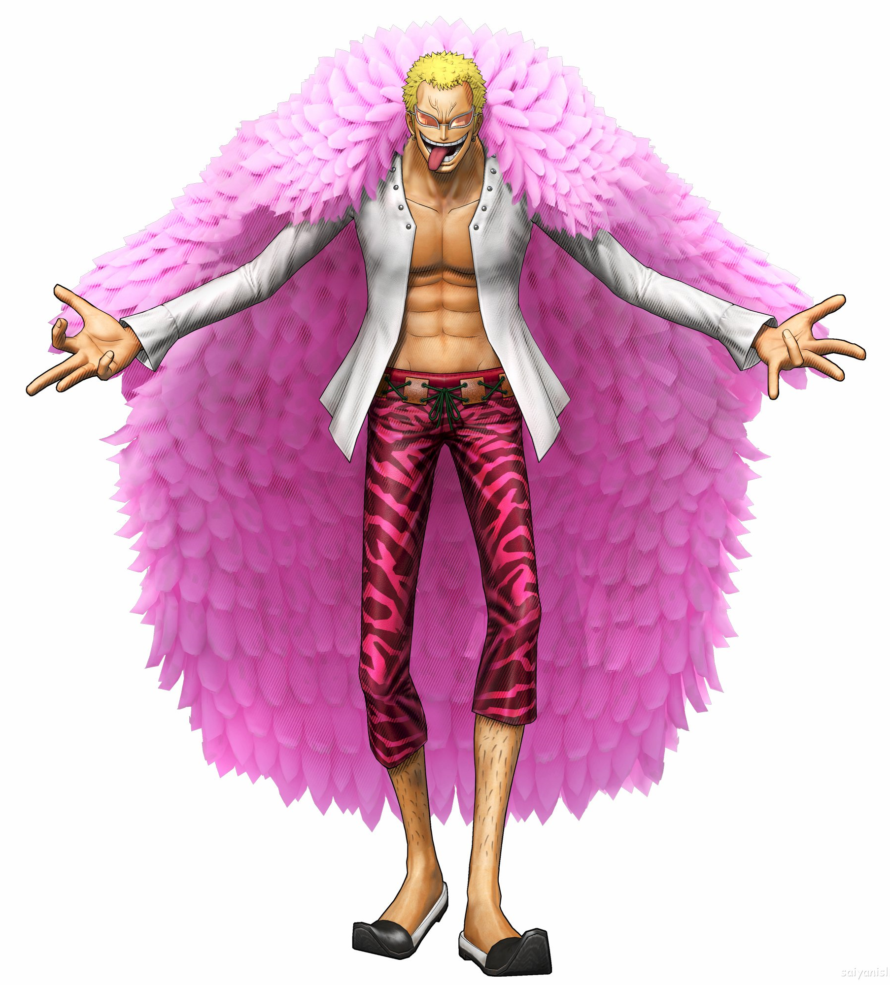 One Piece Encyclopedia: Doflamingo Pirate Warriors 3.png