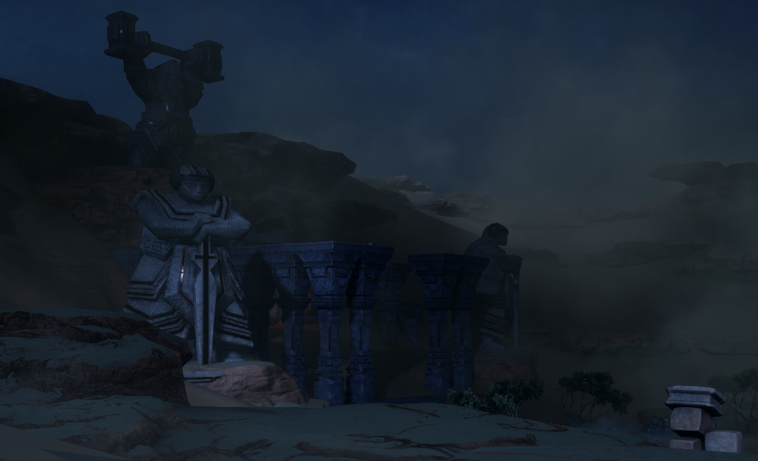 hissing wastes tomb of fairel location
