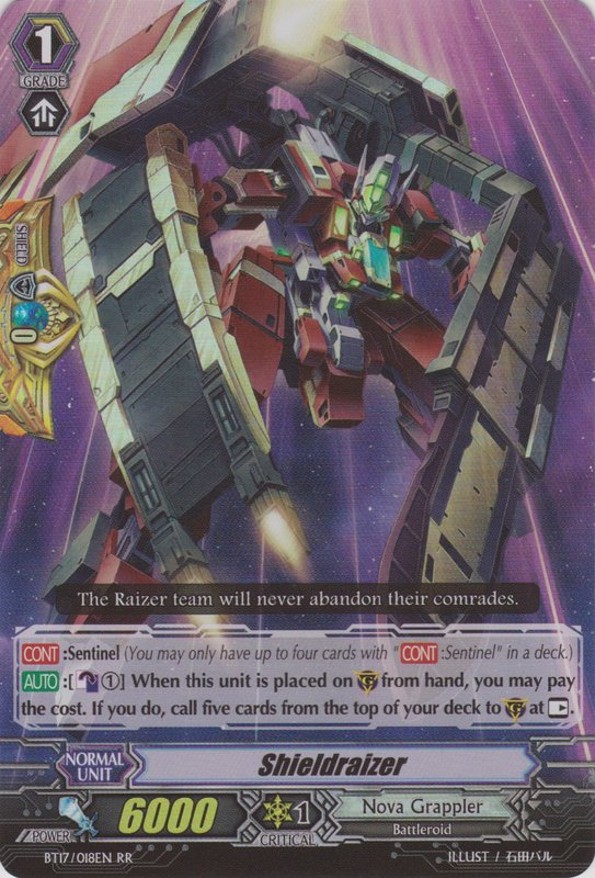 Shieldraizer - Cardfight!! Vanguard Wiki