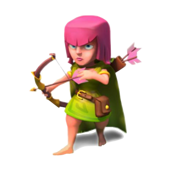 Clash Of Clans Clash Of Clans Barbare Archer Gobelin