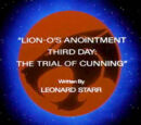 Lion-O's Anointment Third Day: The Trial of Cunning