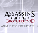 Animus Project Update 1.0