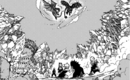 Fairy Tail members watch the Dragons fight.png