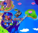 Sonic Rush stages