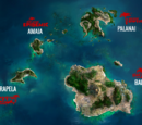 Escape Dead Island locations