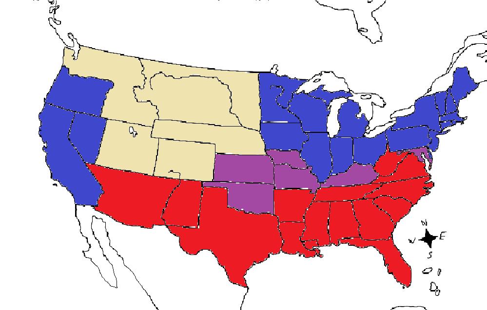Union Map Civil War us Civil War Map Blue Union