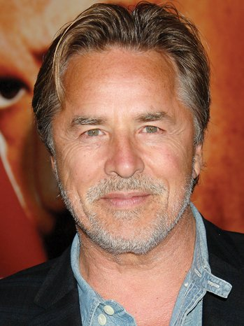 The 67-year old son of father (?) and mother(?), 180 cm tall Don Johnson in 2017 photo