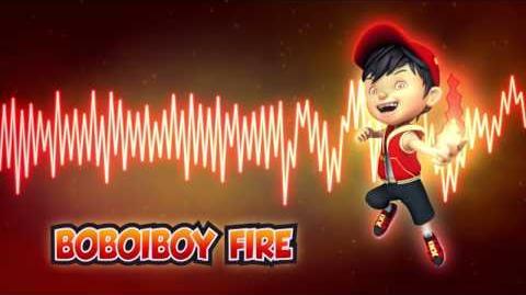 BoBoiBoy Fire Theme