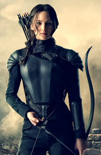 Recorte de Katniss portada revista Empire