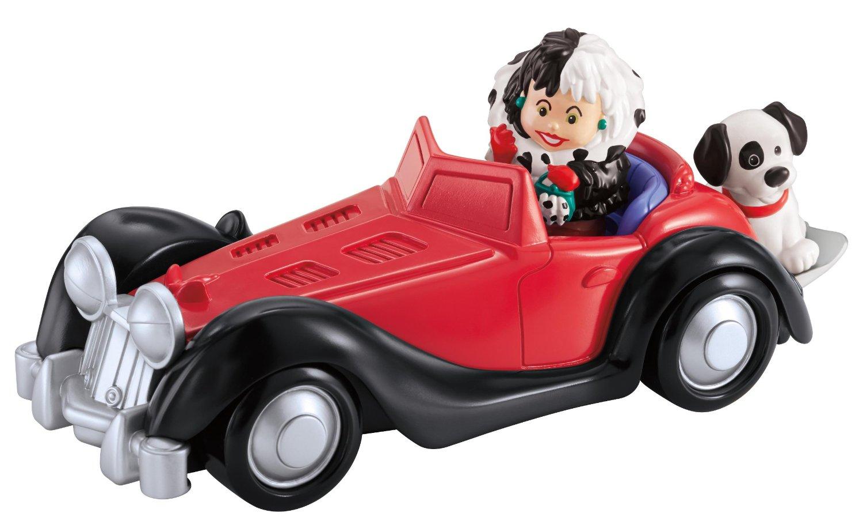 Image - Disney - Fisher-Price - Little People - Cruella de ... Cruella Deville Car Disney