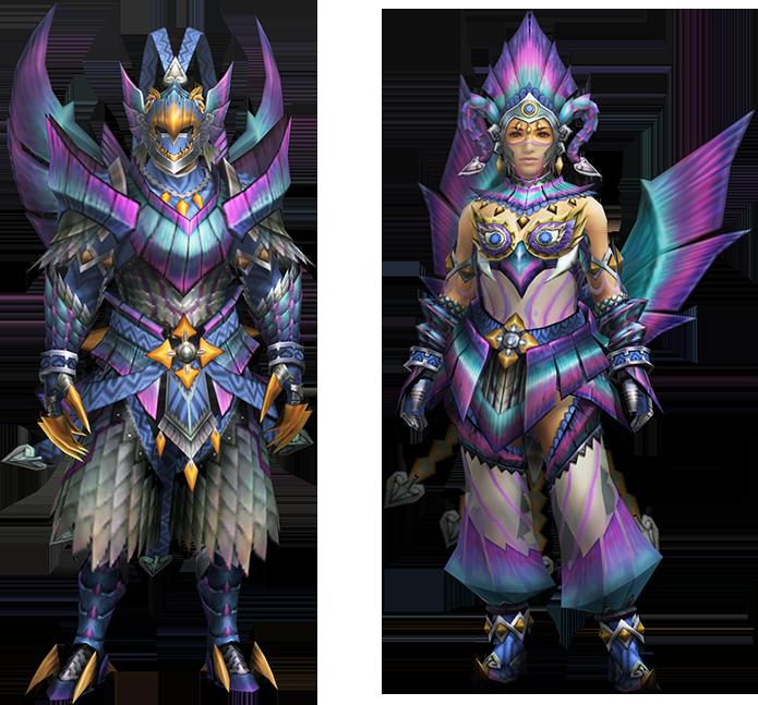 Empress Armor Mh4u Mh4u-najarala z Armor