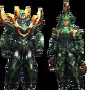 MH4U-Seltas Armor (Blademaster) Render 001.png