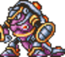 Mega Man X1 sprites