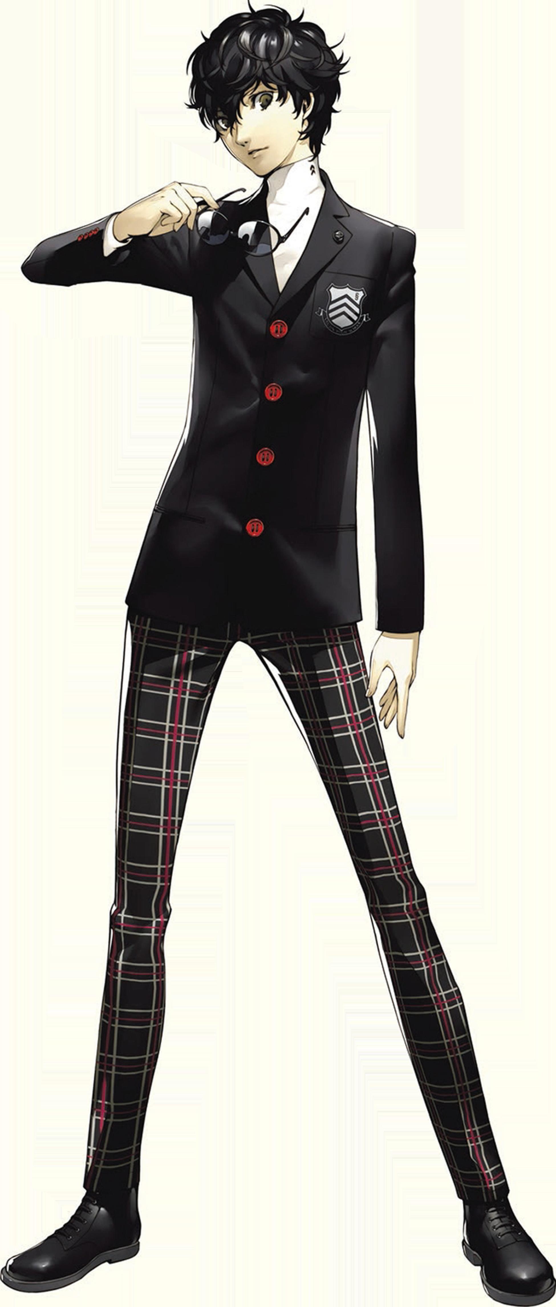 Protagonist (Persona 5) - Megami Tensei Wiki: a Demonic ...