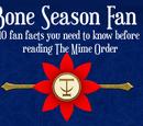 Asnow89/The Bone Season: 10 Fan Facts
