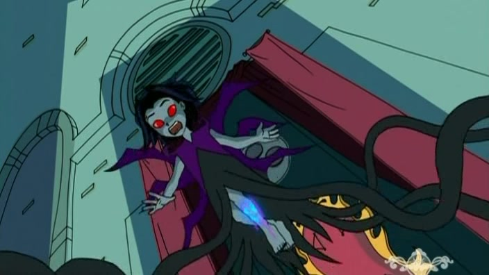 Queen of the shadowkhan villains wiki villains bad for Jackie chan adventures jade tattoo