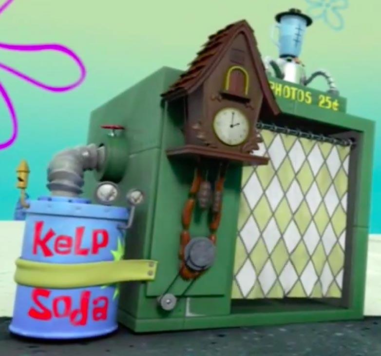 spongebob time machine