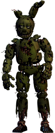 Is golden freddy possibly the second springtrap animatronic