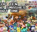 Top Ten Final Smashes Part 1