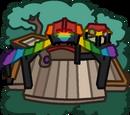 Rainbow Puffle Tree House