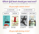 Asnow89/2015 Which YA Book Should You Read Next Chart