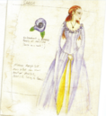 Sansa tournament costume Season 1 concept art.png