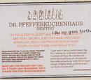 Frau Pfefferkuchenhaus