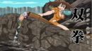 Diane attacking Hendrickson with Double Hammer.png