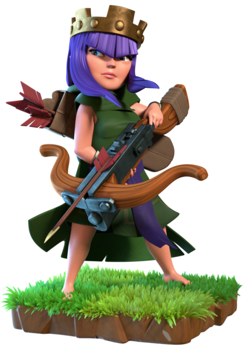 Archer Queen - Clash of Clans Wiki - Wikia