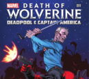A Morte do Wolverine: Deadpool e Capitão América Vol 1 1