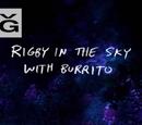 Rigby w powietrzu z Burrito