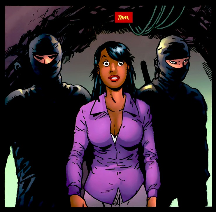 Tamara Fox (New Earth) - DC Comics Database