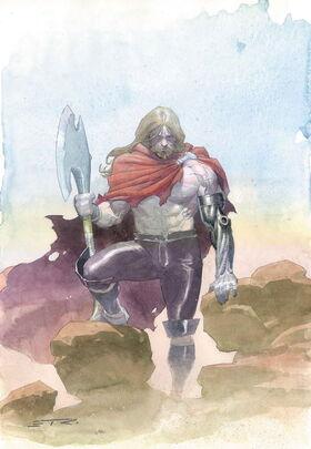 Thor Vol 4 2 Ribic Variant Sin texto
