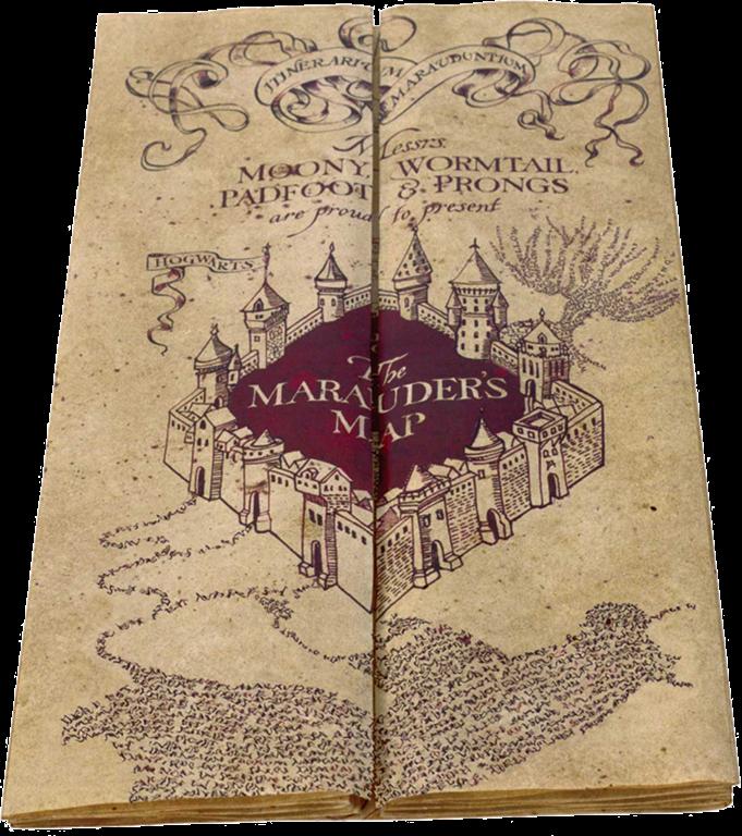 marauders map wallpaper iphone