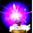 Trofeo de Baculo Sombrio SSB4 Wii U.png