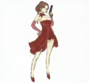 BIOHAZARD REVELATIONS 2 Concept Guide - Party Dress Claire.png