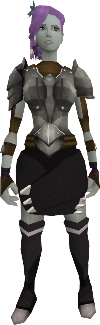 how to open an iron set in runescape