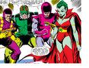 Frightful Four (Earth-616) Trapster, Sandman, Wizard, Llyra from Amazing Spider-Man Vol 1 214.jpg