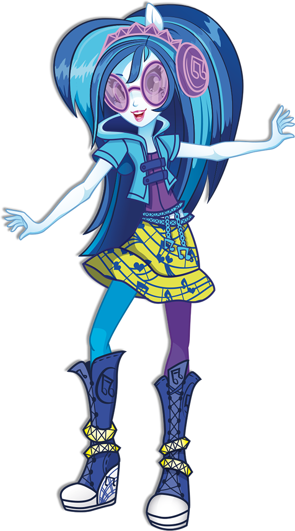 Dj Pon 3 Rainbow Rocks Character Bio Art 2