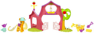 Applejack's Sweet Apple Barn playset