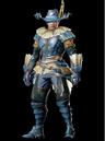 MHO-Blue Kut-Ku Armor (Blademaster) (Male) Render 001.png