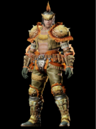 MHO-Gold Congalala Armor (Blademaster) (Male) Render 001.png