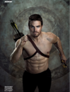 Shirtless Oliver running with arrows strapped to his back.png