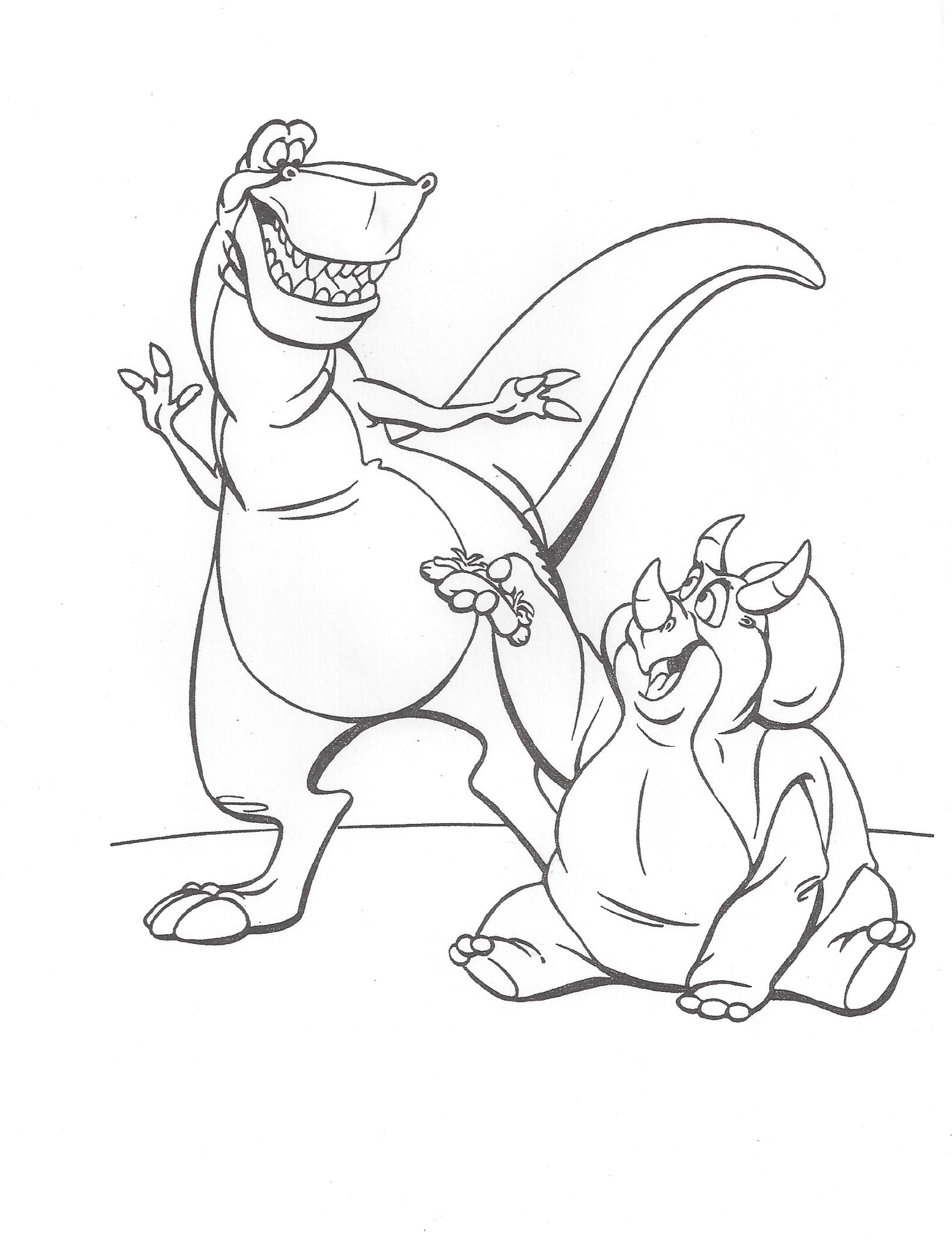 Image We Re Back Coloring Page 10 Png Dinopedia Wikia